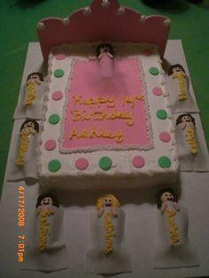 sleep over cake