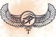 Egyptian Mythology: Eye of Horus http://www.corespirit.com/egyptian-mythology-eye-horus/