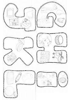 Professora Tati Simões: Coletânea de 170 moldes de letras (alfabetos completos) apostila em PDF para baixar grátis Printable Alphabet Letters, Alphabet Templates, Alphabet For Kids, Different Letter Fonts, Abc Letra, Writing Fonts, Cross Stitch For Kids, Kindergarten Math Worksheets, Letter Stencils