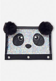 Sparkle Panda Pencil Case