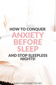 Simple self care tips and nightly routines to help give you relief if you have a lot of anxiety at night before sleep. Life can be really hard when you're trying to go to bed by your mind won't stop! These are easy ideas to try to help relieve stress and How To Cure Anxiety, Anxiety Tips, Anxiety Relief, Stress And Anxiety, Stress Relief, Social Anxiety