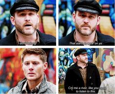 [SET OF GIFS] 8x19 Taxi Driver *sob* I've always loved Benny but this solidified it. I hope he comes back *sob again*