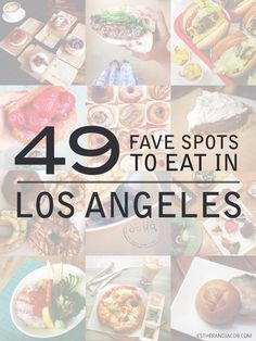 Traveling to LA? Add these to your list of stops!