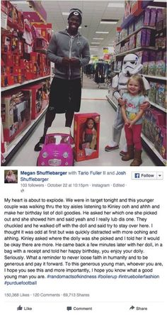 2-year-old Kinley was about to turn 3. But when she told a stranger in the toy aisle at Target, how the teen boy responded shocked everyone!