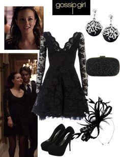 """Gossip Girl 1x01 - Blair"" by rossellalola on Polyvore"
