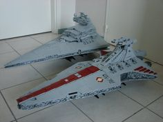 Star Destroyer and Venator MOC
