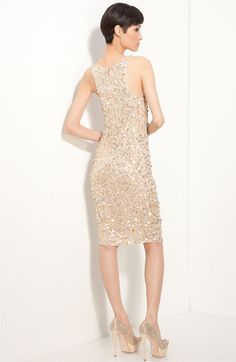 Alice + Olivia 'Lissa' Sequin Tank Dress