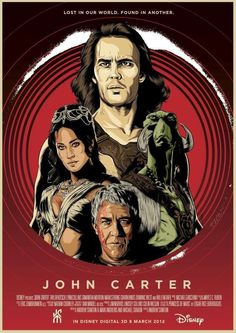 John Carter (2012) This movie was seriously underrated. I loved it.