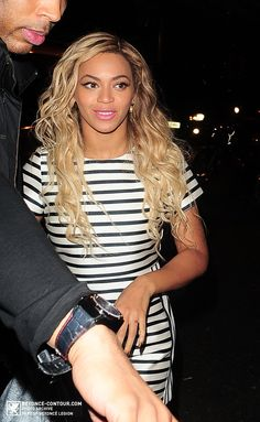 Beyoncé Arrives At The Arts Club In London 06.03.2014