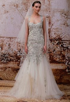 Monique Lhuillier's Fall 2014 Bridal Collection