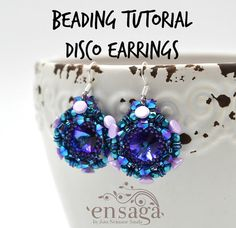 Beading tutorial DIY necklace pattern Instructions for by ensaga