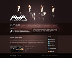 Angels and Airwaves mini site by Honya on DeviantArt
