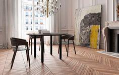 Piezas de mobiliario singulares hechas por grandes diseñadores. Con detalles y formas muy cuidados, se convierten en la pieza clave de un espacio. La silla Mava creada por Stephanie Jasny y la mesa Maeda de Victor Carrasco. Diseño de interiores, muebles, decoración...