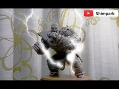 Dragon Ball Nappa figure production #humor #funny #lol #comedy #chiste #fun #chistes #meme