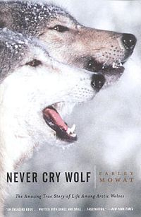 """A great author to read: Farley Mowat, a Canadian Legend! Some of his books: """"The Dog Who Wouldn't Be"""", """"Owls In The Family"""", """"Otherwise"""" and of course, """"Never Cry Wolf""""! Must reads!"""