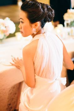 Sheer Back Wedding Gown | photography by http://erinheartscourt.com/