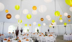 Galena, IL  Wedding Ideas  www.chestnutmtn.com    The Sunset Garden Tent