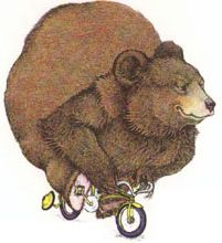The Bear's Bicycle - illustrated by David McPhail