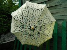 Crochet umbrella