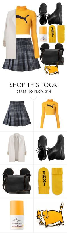 """Cat & Mousse"" by eversmile ❤ liked on Polyvore featuring Puma, Max & Moi, Kate Spade and Drunk Elephant"