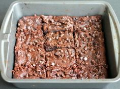 Flourless Fudgy Peanut Butter Chocolate Chip Brownies   Tasty Kitchen: A Happy Recipe Community!