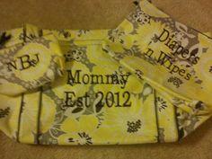 (352080, Kayla Botelho) Thirty-One  Cute shower gift. Retired pattern. Awesome idea.