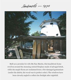 HARRY GESNER - his home, The Sandcastle (Malibu, CA)
