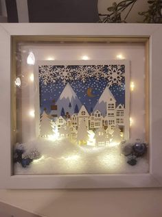 maps of action crafts Diy Christmas Lights, Handmade Christmas Decorations, Christmas Ornaments To Make, Christmas Signs, Christmas Art, Holiday Crafts, Fun Crafts, Xmas, Crafts For Kids