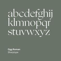 Ogg by Lucas Sharp, . Modern Typography, Modern Fonts, Typography Quotes, Typography Inspiration, Typography Design, Branding Design, Logo Design, Design Inspiration, Design Ideas