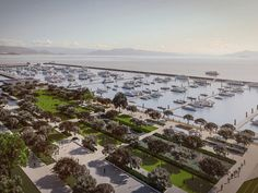 Segundo prefeitura, marina será um parque de lazer para comunidade (Foto: Divulgação)