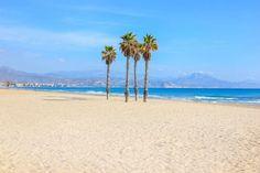 Playa de San Juan in Alicante | Beach Guide Most Beautiful Beaches, Beautiful Hotels, San Juan Beach, Famous Beaches, Beach Aesthetic, Travel Oklahoma, Colorado Mountains, Death Valley, New York Travel