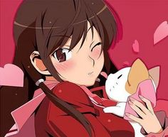 Kusunoki Kasuga x Keima - Kami Nomi Zo - anime - Blog Ultra Ocio Si quieres votar por una de estas chicas pincha la imagen