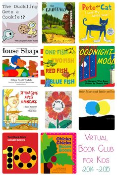 Introducing the authors and books for the 2014-2015 Virtual Book Club for Kids