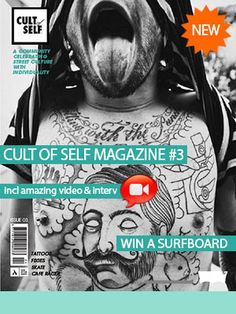The words, images and videos inside issue 03 of Cult of Self Magazine are a celebration of individuality and authenticity. And this is one celebration that's had its notches turned up. We've turned your 'reading experience' into an audio-visual journey filled with ready-to-watch videos and image slideshows – content that is perfect for all iOS and Android devices! http://www.cultofself.org/inked/cult-of-self-magazine-issue-03/