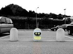 Street art having fun, by OakoAK
