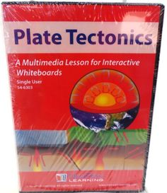 SingleUser CDROM Multimedia Lesson for Interactive Whiteboards Plate Tectonics 78676 >>> More info could be found at the image url.