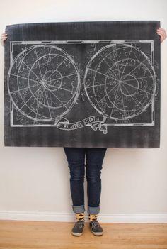 Constellation Printable by Melanie Burke on Caravan Shoppe