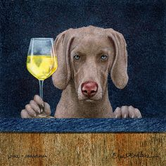 Shop for wine art from the world's greatest living artists. All wine artwork ships within 48 hours and includes a money-back guarantee. Choose your favorite wine designs and purchase them as wall art, home decor, phone cases, tote bags, and more! Bullen, Love Dogs, Wine Art, Dog Art, Pet Portraits, Animal Pictures, Fur Babies, Fine Art America, Labrador Retriever