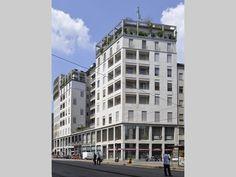Edificio per abitazioni, uffici e autorimessa - La Racchetta, la grande incompiuta - itineraries - Ordine degli architetti, P.P.C della prov...
