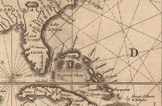1650 Nautical Chart of the Atlantic Ocean von AtomicPhoto auf Etsy
