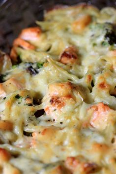 Broccoli and salmon gratin, Béchamel sauce - Poisson - Meat Recipes Best Soup Recipes, Meat Recipes, Healthy Dinner Recipes, Healthy Snacks, Chicken Recipes, Broccoli Gratin, Salmon And Broccoli, Sauce Béchamel, Bechamel Sauce