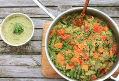 Quinoa Risotto with Avocado Cream | Hip & Healthy