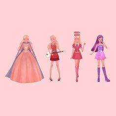 Barbie 12 Dancing Princesses, Barbie Princess, Equestria Girls, Powerpuff Girls, Barbie Drawing, Barbie Tumblr, Princess And The Pauper, Barbie Movies, Fanart