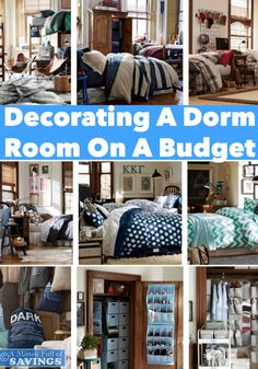 You don't have to spend a ton of money on making your dorm room POP, so come over and read Decorating a Dorm Room on a Budget- http://www.amittenfullofsavings.com/decorating-a-dorm-room-on-a-budget/ #dormlife   #collegelife   #dormroomideas   back to school tips, college life, dorm life