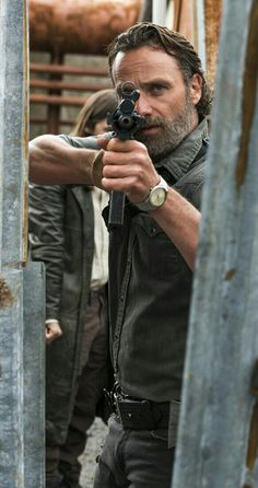 "Rick (Andrew Lincoln) after Negan made him count! | Season 8:Episode 1 - ""Mercy"""