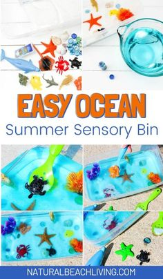 Sea Activities, Summer Activities For Kids, Hands On Activities, Preschool Activities, Under The Sea Crafts, Under The Sea Theme, Toddler Play, Toddler Preschool, Ocean Crafts