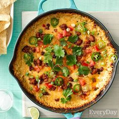 Loaded Queso Fundido Dip