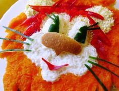 Рецепт Салат для детей «Львенок» с фото