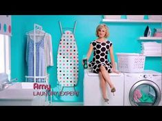 Laundry expert Amy Sedaris sends her intern Jimmy on a 12-week tour to prove that Downy Unstopables' freshness lasts for 12 weeks in storage!
