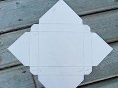 box for 6 cards & envelopes - ENVELOPE PUNCH BOARD